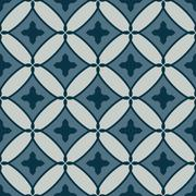 Art abstract floor geometric seamless pattern - stock illustration