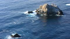 Big Sur California Coastline 4k 003 Stock Footage