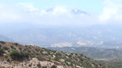 California Countryside Clouds and Moutains 4K UHD Stock Footage