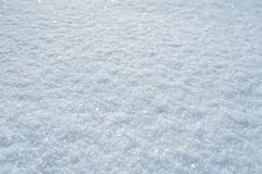 High detailed surface of winter snow - stock photo