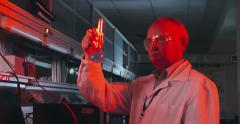 Chemical Laboratory Scientist Stock Footage