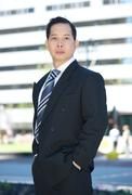 Stock Photo of Formal portrait of an asian businessman
