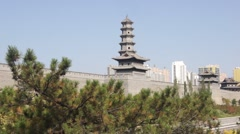 City of Datong (Shanxi, China) 31 Pagoda Stock Footage
