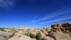 Joshua Tree National Park, California Desert Landscape 4K UHD Stock Footage