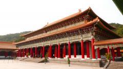 Main Shrine panorama, memorial complex, National Revolutionary Martyrs' Shrine Stock Footage