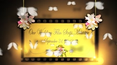 Our Wedding Film Strips Memories v2 Stock After Effects