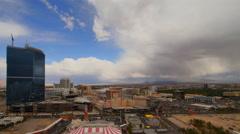 Las Vegas, Nevada Skyline Aerial Hotel View Cityscape 4K UHD Stock Footage