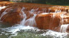 Las VLas Vegas Waterfalls Oasis Fountains 4K UHDegas 4k 009 Stock Footage