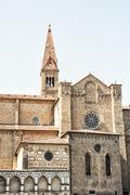 Basilica of Santa Maria Novella, Florence, Italy, cultural heritage - stock photo