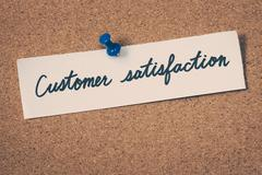 Stock Photo of customer satisfaction