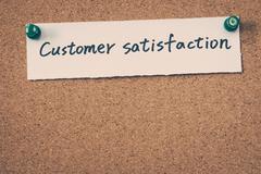 Customer satisfaction Stock Photos