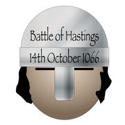 Battle Of Hastings Date Icon Stock Illustration