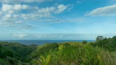 Maui, Hawaii Green Coast Blue Ocean 4K UHD Stock Footage