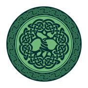Celtic Tree of Life - stock illustration