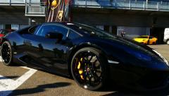 Lamborghini Huracan LP 610-4 Stock Footage