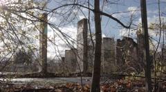 Abandoned Berlin Wall Teltow - stock footage