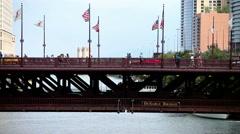 DuSable Bridge Stock Footage