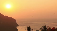 Phi Phi Islands Sunset Stock Footage
