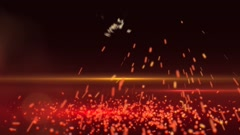 Stock After Effects of Sparks Transformation Intro FX