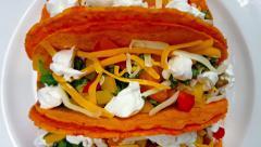 Glorious Tacos Close Up 4k Stock Footage