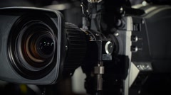 Rotate of a Television Camera Stock Footage