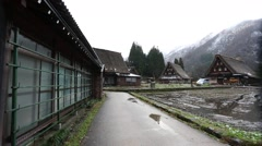World Heritage Gokayama Houses in JAPAN Stock Footage
