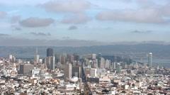 San Francisco Cityscape 4K 001 Stock Footage