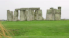Using smartphone to make photo to stonehenge Stock Footage