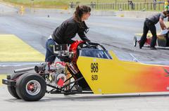 junior dragster - stock photo