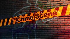 The Crime Scene - Crime Scene Tape Logo Stinger Stock After Effects