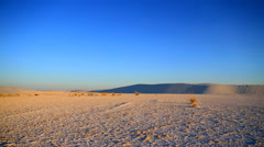 White Sands National Park 4k 003 Stock Footage