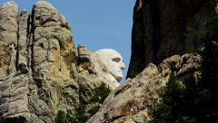American National Memorial Mount Rushmore USA Stock Footage