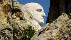American National Memorial Mount Rushmore USA Stock Footage