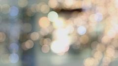 Christmas illuminations. Stock Footage