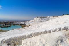 White Hill Pamukkale - stock photo