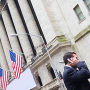 Wall street business, New York, USA. Stock Photos