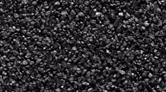 Black sand background. Stock Footage