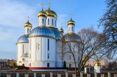 Holy Resurrection Cathedral, Brest, Belarus Stock Photos