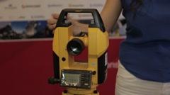 Hi tech device new technology nanotechnology Stock Footage