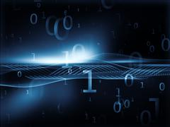 Data Stream - stock illustration