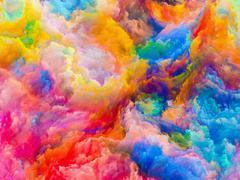 Numeric Colors - stock illustration