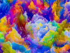 Colors Arrangement Stock Illustration