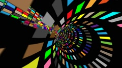 Stock Video Footage of Abstract virtual space