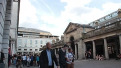 Covent Garden Market in London Stock Footage