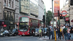 London Day Stock Footage