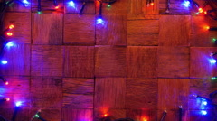Christmas background. 4K. - stock footage