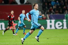 Leverkusen, Germany- December 9, 2015: Ivan Rakitic during the UEFA Champions Stock Photos