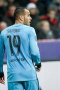 Stock Photo of Leverkusen, Germany- December 9, 2015: Ssndro Ramirez during the UEFA Champio