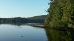 A British Columbian lake. - stock footage