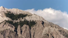 One of the peaks of the Bugaboo mountain range, British Columbia. Stock Footage